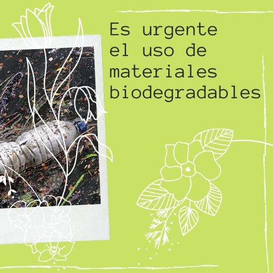 materiales biodegradables